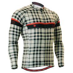FIXGEAR Men's Cycling Jersey Long Sleeve, model No CS-101. Comfortable Cycling Jersey.