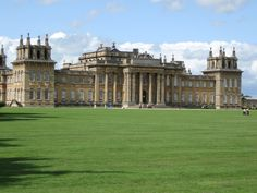 Blenheim Palace Facade