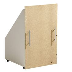 For those with a working attic and a desire to use the space effectively. Eaves Storage, Attic Storage, Wall Storage, Locker Storage, Storage Chest, Garage Guest House, Slanted Walls, Attic Organization, Attic Closet