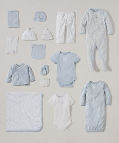 Take a look at the White & Sky Organic 15-Piece Layette Set - Infant on #zulily today!