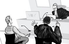 Courtroom illustration, Breda [15-11-2016]