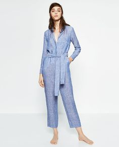 ZARA - WOMAN - LINEN STUDIO JUMPSUIT