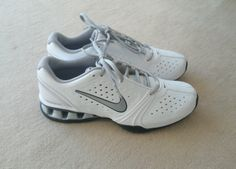 Simply white Nikes.