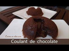 Coulant o volcan de chocolate