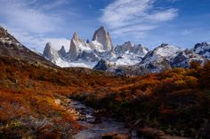 Fall Colors in Patagonia by Peter Stasiewicz on 500px