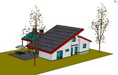 Eco Independence House: living on eco products and supplying your own energy for your home.