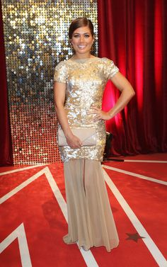 Actress Nikki Sanderson attends the British Soap Awards at Media City on May 18, 2013 in Manchester, England. (May 17, 2013 - Source: Tim P. Whitby/Getty Images Europe)