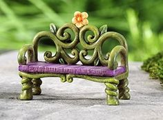 Fantasy Miniature Fairy Garden Bench Whimsical Mini Yard Décor Statue Gift Craft http://www.amazon.com/dp/B00P0B03DI/ref=cm_sw_r_pi_dp_h7.3ub1M3ZQ0P