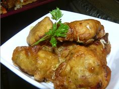 This is a vegetarian fritter better known as marinade. It's quick and easy. It can also be made with cooked cod. Made by MrsMartine Stephenson