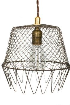 For Anna...check out all these cool up-cycled light fixtures - lots of inspiration here