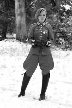 German female soldier?