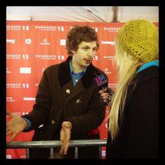 Michael Cera at Sundance 2012
