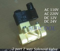 24.29$  Buy here - http://aliv67.shopchina.info/go.php?t=32671661773 - Guide Type Brass Solenoid Valvula de agua 2V130-15 two-position two way normally closed solenoid valve G1/2 AC220V  #aliexpresschina