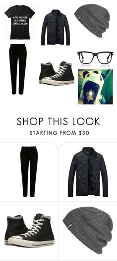 """Kai Beckett"" by kayla-iz-here on Polyvore featuring River Island, Converse, Outdoor Research, Tom Ford, men's fashion and menswear"