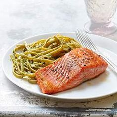 Cooking for two? Spice up your weekly meal routine with this easy-to-make smoky mustard-maple salmon recipe. It's healthy, easy and full of flavor! #Salmon #Recipe #Healthy