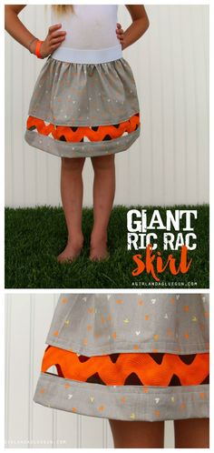 cute skirt for girls easy to sew