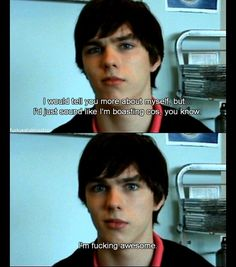 Nicholas Hoult - Tony from Skins uk
