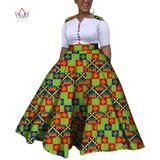 2019 African Dresses For Women Dashiki African Dresses For Women Colorful Daily Wedding Size Ankle-Length Dress African Dresses For Women, African Attire, Ankara Designs, African Print Fashion, Dashiki, Traditional Outfits, Fashion Dresses, Plus Size, Gowns