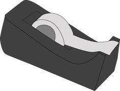 Black Tape Dispenser