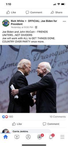 Hold My Hand, Hold Me, Joe Biden, Unity, Presidents