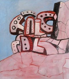 PHILIP GUSTON Untitled, 1978 Oil on canvas 48 × 42 in