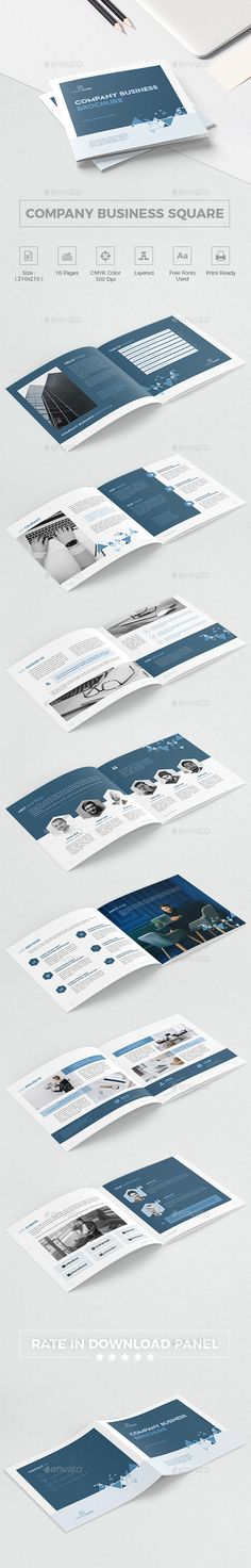 Company #Business Square #Brochure - Corporate #Brochures