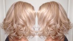 27 shades of champagne hair that are bubbly and beautiful - Blonde Hair Blonde Hair Colour Shades, Warm Blonde Hair, Blonde Hair Looks, Honey Blonde Hair, Balayage Hair Blonde, Champagne Hair Color, Champagne Blonde, Blond Rose, Strawberry Blonde Hair Color