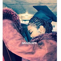 #TSRPositiveImages (swipe for more): An ode to #Beyonce from a graduating senior... via  @__ashhh_ #babyhairsonfleek #BlackGirlMagic