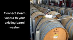 Overview of barrel cleaning with Bacchus Wine, Steam Cleaning, Washer, Barrel, Presentation, Videos, Barrel Roll, Washing Machine, Barrels