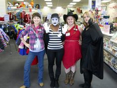 Halloween at the Pineville store!