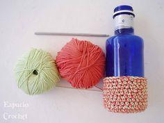 Espacio Crochet: Jarrón de crochet / Crochet vase