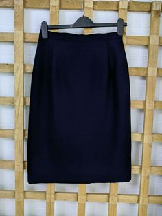 Blue Pencil Skirts, Skirts For Sale, Wool Blend, Size 12, Vintage, Fashion, Green, Moda, Fashion Styles