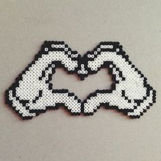 LOVE hama mini beads
