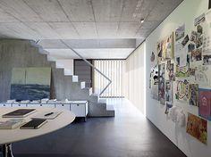 Felber Architects designed the Szelpal house in Solothurn, Switzerland.