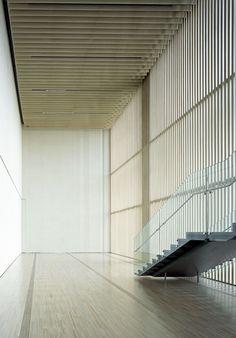 Kengo Kuma | Suntory Museum of Art, 2007 Tokyo  Photo by Mitsumasa Fujitsuka.