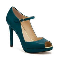 The Shawna Heel //I love my Shawna heels<3<3 I have them. Thinking maybe this color next? #Coach