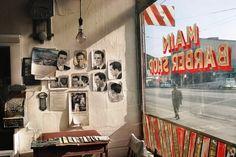 Vancouver Vanguard: Fred Herzog's Early Color Street Photographs ) ) Main Barber, Fred Herzog Stephen Shore, William Eggleston, Saul Leiter, Color Photography, Film Photography, Street Photography, Modern Photography, Interior Photography, Photography Settings