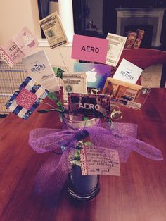 Perfect gift for a tween/teen/college student/teacher. A bouquet of gift cards. Sticking a gift card in an envelope is so boring so for my daughter's 11th birthday I made a gift card bouquet.