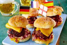 Unser beliebtes Rezept für Mini-Burger mit Mango und Radicchio und mehr als 55.000 weitere kostenlose Rezepte auf LECKER.de.
