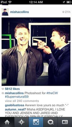 Misha Collins Season 9
