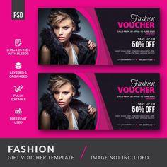 Fashion gift voucher template Premium Ps...   Premium Psd #Freepik #psd #gift #template #fashion #shopping Pink Instagram, Instagram Fashion, Company Letterhead, Invitation Design, Invitation Templates, Layered Fashion, Gift Vouchers, Instagram Story Template, Fashion Sale