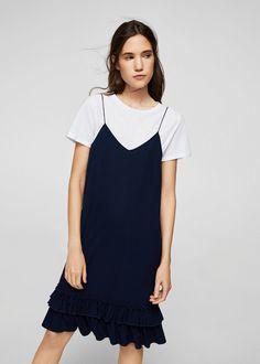 Vestido camiseta interior | MANGO