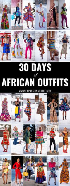A roundup of 30 amazing African outfits and ankara print styles by fashion blogger, Louisa Moje of La Passion Voutee! #ankara #africanprint #ankarafashion Dashiki, African print dress, African fashion, African women dresses, African prints, Nigerian style. All about Ankara dresses, African prints, Nigerian fashion, African fashion, African print dresses, African dresses, Dashiki Dress, African clothing, African dress styles