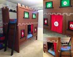 Super Mario Bunk Bed