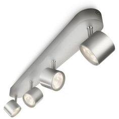 buy philips myliving led bar ceiling spot lights aluminium at argosco