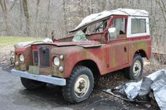 Tree Damaged 1967 Land Rover Series IIA