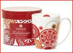 Ashdene red mug Red Mug, Tabletop, Ceramics, Mugs, Tableware, Ceramica, Pottery, Dinnerware, Table