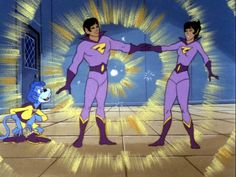 """""""Wonder Twin powers — activate!""""   Every time I say this to my kids they look at me like I'm crazy.  8)"""
