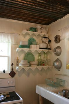 IMG_3928 by milkmaid1979, via Flickr Granny Chic Cottage Kitchen