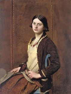 It's About Time: The Rather Amazing Portraits of his Wife & Others by England's George Spencer Watson 1869-1934